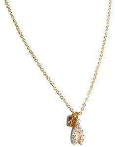 Elliot Francis Pave wishbone necklace