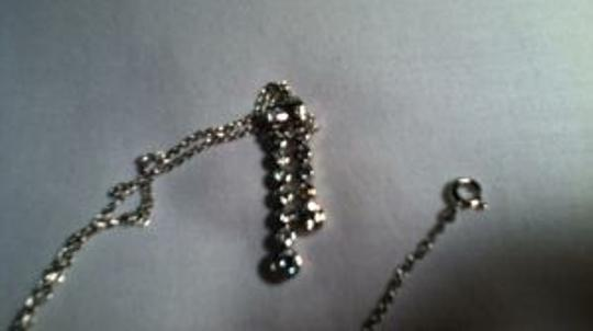 Other silver rhinestone necklace