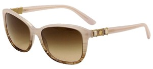 Versace Versace VE 4293B 5154/13 Ice Violet / Striped Havana Brown Sunglasses