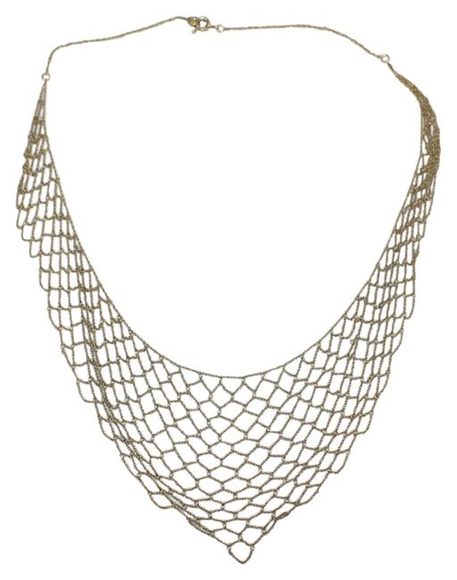 Item - Golden Tan Chain Link Necklace