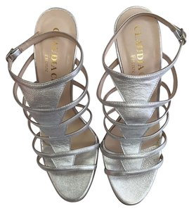Claudia Ciuti High Heel Sandals silver Formal