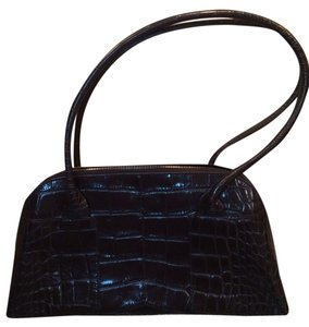 Furla Crocodile Leather Shoulder Bag