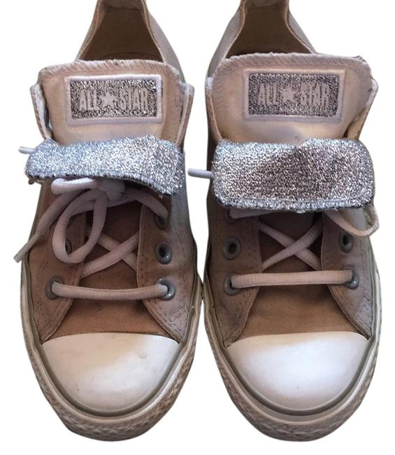 Item - Grey and Silver Sneakers Size US 7 Regular (M, B)