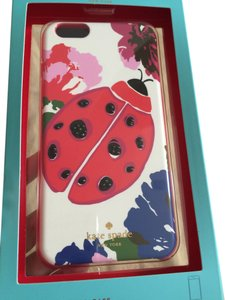 Kate Spade NWT KATE SPADE LADY BUG GEMS IPHONE 6 PLUS CASE