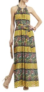 Yellow Maxi Dress by BCBGMAXAZRIA Bcbg Maxi Paisley