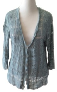J. Jill Crochet Boho Cardigan Button-down Sweater