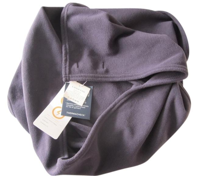 Item - Charcoal Gray Unisex Thermacheck Antistatic Scarf/Wrap