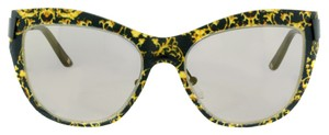 Escada ESCADA SES 857 COL.0APA Black&Yellow Multi-Color Sunglasses (11157)