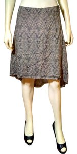 A|X Armani Exchange P983 A/x Beige Long Skirt beige, black