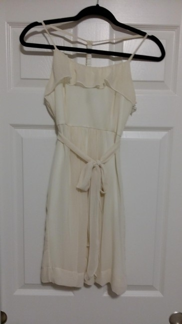 Other short dress Cream, and Black&White on Tradesy