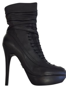 Rock & Republic High Heel Platform Desiner black Boots