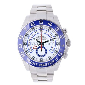 Rolex Rolex Yacht-Master II Stainless Steel Watch Blue Ceramic Bezel 116680