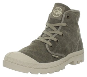 Palladium Street Urban Hi Top Grey Boots