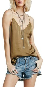 Free People Scallop Deep V Ob415623 Top FAITIQUE