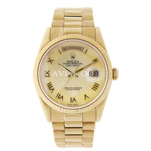Rolex Rolex Day-Date 36 18K Yellow Gold Watch Mother of Pearl Dial 118208