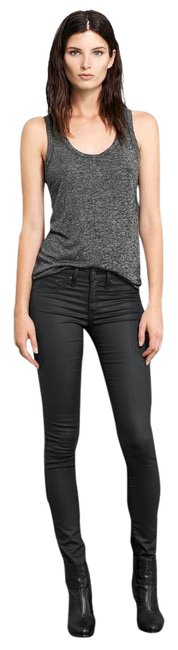 Item - Black Coated Free Fast Shipping*** Nwt- Legging- Shoreditch- Retail Skinny Jeans Size 32 (8, M)
