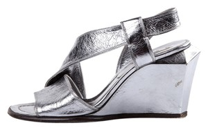Marc Jacobs Silver Wedges