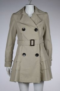 Marc New York Womens Cotton Long Sleeve Casual Jacket Trench Coat