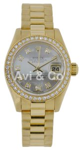 Rolex Rolex Lady-DateJust 26 18K Yellow Gold Diamond Bezel & Dial 179178