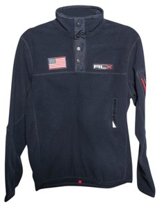 Ralph Lauren Fleece Mens Navy Jacket