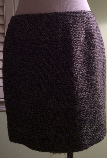 J.Crew Skirt Tweed Gray