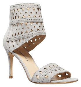 Via Spiga Suede Heels Grey Sandals