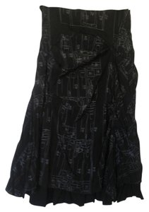 LANVIE Skirt Black/Grey