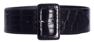 Ralph Lauren Ralph Lauren Black Alligator Belt