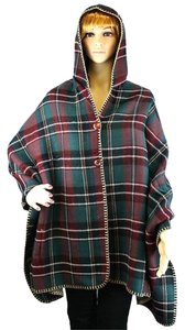 Other Tartan Plaid Plaid Cardigan Plaid Cape