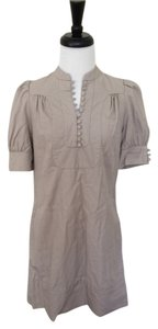 French Connection short dress Beige Cap Sleeve on Tradesy