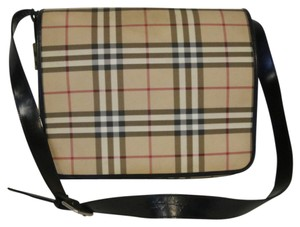 Burberry Brit Monogram Lambskin Brown Travel Bag