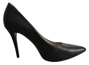 Michael Kors Pump Stiletto Leather Black Pumps