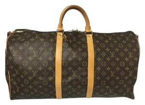 Louis Vuitton Keepall Bandouliere Keepall Travel Bag