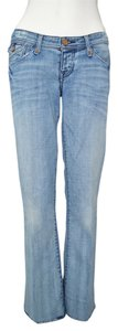 J & Co Jeans Boot Acid Wash Flare Leg Jeans-Acid