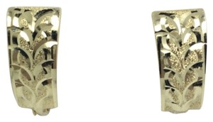 Other 14K Yellow Gold Diamond Clip Earrings