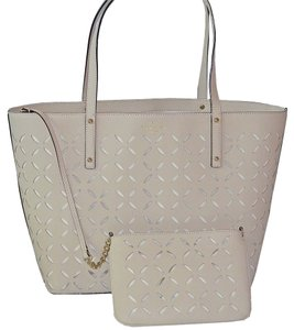 Kate Spade Tote in Ostrich Egg Bone