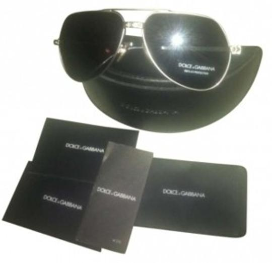 Preload https://img-static.tradesy.com/item/147968/dolce-and-gabbana-silver-frame-with-some-gold-accents-aviator-sunglasses-0-0-540-540.jpg