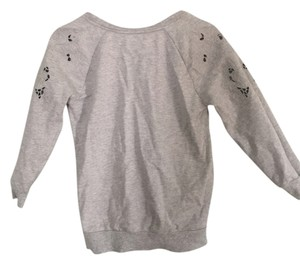 Ann Taylor LOFT Cut-out Flower Sweatshirt