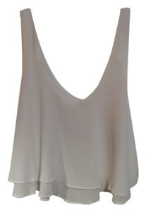 Iris Los Angeles Flowy Top White