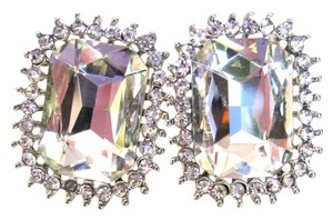 Leslie Danzis LESLIE DANZIS All Gem Crystal Pierced Earrings