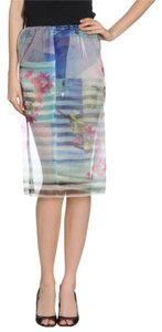 Clover Canyon Skirt Blue floral