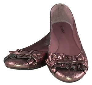 Merona Leather Flat Brass metallic Flats