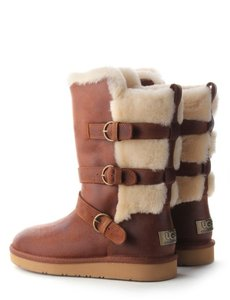 UGG Australia Fur Buckle brown Boots