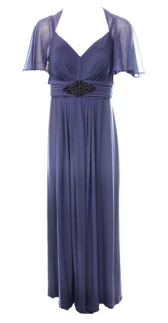 Item - Women's Ruched Chiffon V-Neck Ball Gown Dress @171