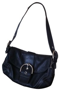 Coach Small Leather Hobo Bag