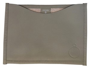 Hermès Hermes Petit H Green Swift Leather with Canvas Pouch Limited Edition