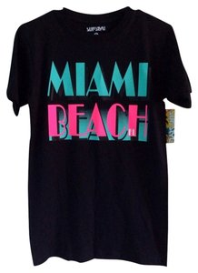 Other Miami Beach Neon Retro Nwt Small T Shirt Multicolor