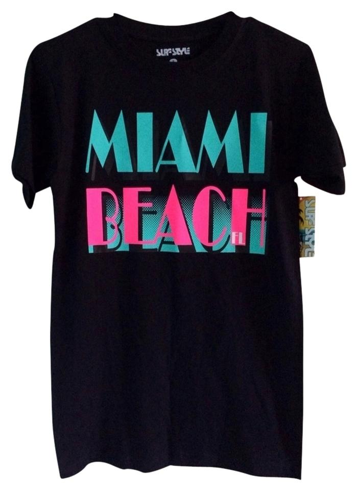 Other Miami Beach Neon Retro Small T Shirt Multicolor