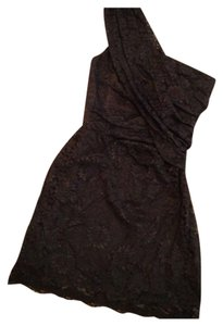 W118 by Walter Baker Lbd One Shoulder Lace Party Little Dress - item med img