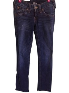 True Religion Straight Leg Jeans-Medium Wash